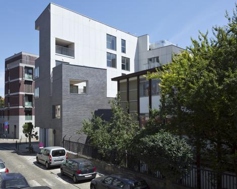 logements rue st phanie baumans deffet architecture et urbanisme wallonie bruxelles. Black Bedroom Furniture Sets. Home Design Ideas