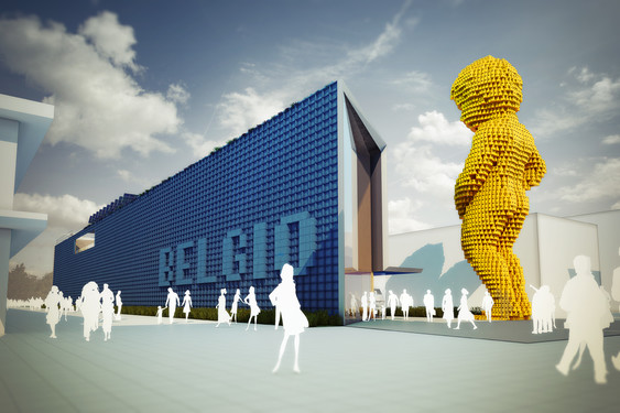 Stands Expo Universelle Milan : Expo universelle milan modulo architects