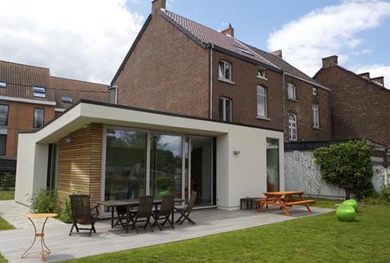 Eglise Extension D 39 Une Habitation Co Next Architectes Wallonie Bruxelles Architectures
