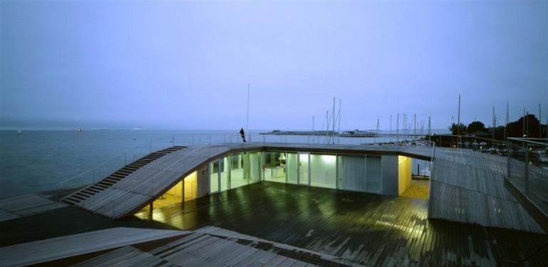 Maison maritime de la jeunesse jds architects julien de for Constructeur maison wallonie