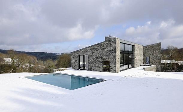 maison berleur cabinet d 39 architectes p hd wallonie bruxelles architectures. Black Bedroom Furniture Sets. Home Design Ideas
