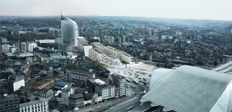 paradis express bureau d architecture greisch scrl wallonie bruxelles architectures