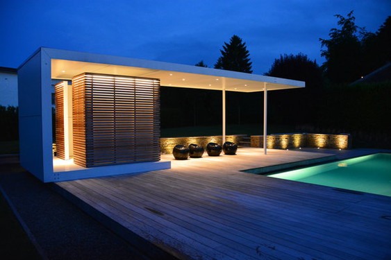Pool house plan 9 bureau d 39 architectes sprl wallonie - Plan pool house piscine ...