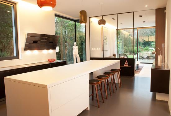 maison uccle frederic haesevoets architecture sprl wallonie bruxelles architectures. Black Bedroom Furniture Sets. Home Design Ideas